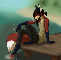 smoke on the pier by xCountingBodiesx