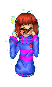 Undertale|Frisk| by Nikkisses