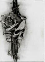 My Tattoo Design by deathlouis