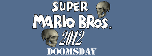Super Mario Bros 2012 Doomsday Logo by BuzzNBen