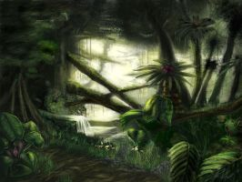 Rainforest by Lyraina