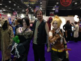 Daryl Dixon, Rikku and Lulu Cosplay by Spider-Matt