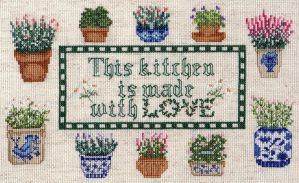 This kitchen is made with LOVE by pinkythepink