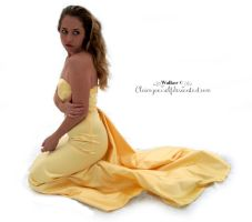 Yellow Dress Stock 1 by ClaimYourself
