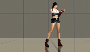 Tifa Lockhart FF7 Pre-meteorite (New Updates) by bstylez