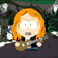 Dave Mustaine South Park by Chip8088