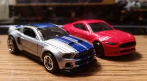 HW Need For Speed Mustangs by CSX5344