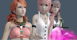 Team of FFXIII by Primal-Eyes