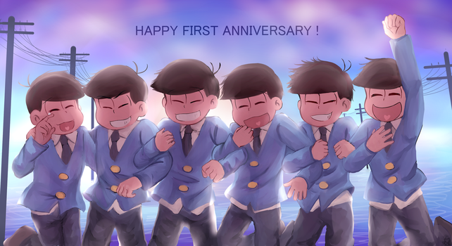 1st Anniversary by Khylimei