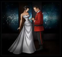kirk and sadara wedding  -  commission by nightwing1975