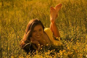 Barefoot and Happy by nikongriffin