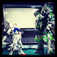 Gundam Kitbash UC - Size Difference.., by s00nk1a