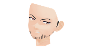 MMD Stern Male Face DL by 2234083174