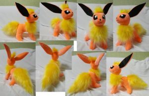 Flareon version 1 by Rens-twin