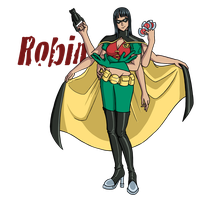 Robins: Demon Child Wonder by VelkynKarma