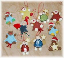 PERSONALIZED  TREE Ornaments by noe6
