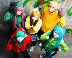 Matryoshka group photo 3 by Kiosa