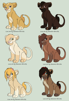 Lion Cub Adoptables-OPEN by CookieLoveXO