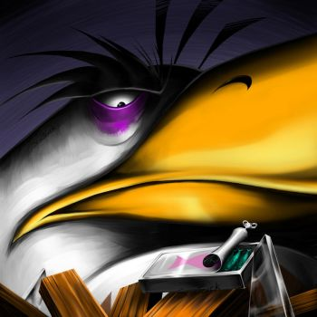 Mighty Eagle Angry Bird by Scooterek