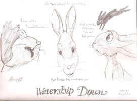 Watership Down by MercerMZ
