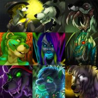 Halloween Icons Second Set by Ifus