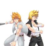 Commission: Double Dragon Roxas and Ventus by R-Legend
