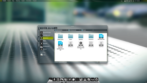 Kubuntu 14.04 (Dolphin V2) by Action102090