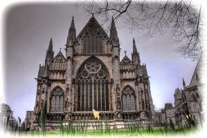 The East Front, Lincoln Cathedral... by TheBaldingOne