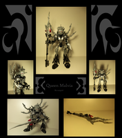 Bionicle MOCs: Queen Malvia Revamped by Shadowmarx