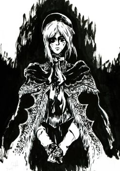 Bloodborne Inks: The Plain Doll by JoCassidy