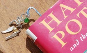 Slytherin Seeker Bookmark by kittykat01