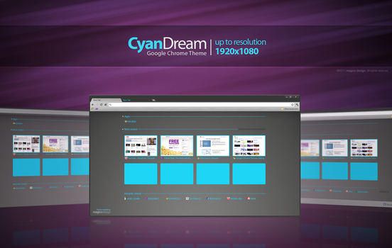 CyanDream for Chrome by maggico
