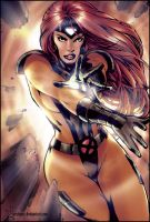 Jean Grey by erickenji