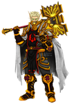 Commission: Holy Paladin by Saurro