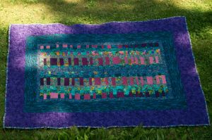 A Quilt for my sister by Judescreations