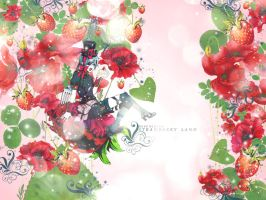 STRAWBERRY LAND by Miss-NiNiNa