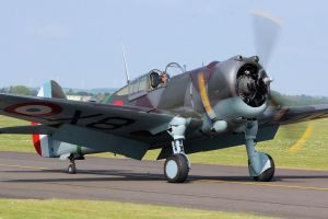 Curtiss Hawk 75A-1 by Daniel-Wales-Images