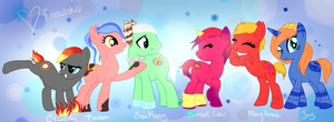 Group Picture::Say Cheese! by MyLilAdoptables