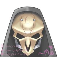 Overwatch Reaper Commission by Gothicamew