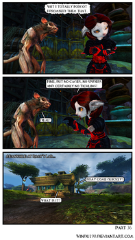 A Skritty Situation 36 (Guild Wars 2 comic) by windu190