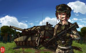 Battle Ready by NDTwoFives
