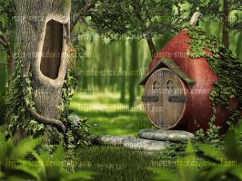 House of a Fairy 01 by Trisste-stock