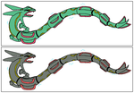 384 Rayquaza by ProjectPokemon