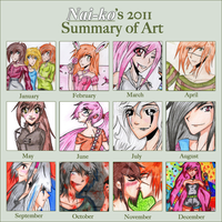 2011 Summary of art by Nai-ko