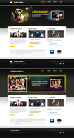 WebCasting Mockups by bilalm