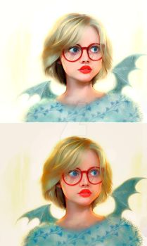 Hipster from hell,color-light tester by ALI-MALBICHO