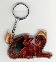 Keychain with Dragarta - baked by Dragarta