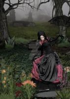 Mourning Path by sammykaye1