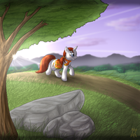 +Foxbrush's travels+ by min-mew