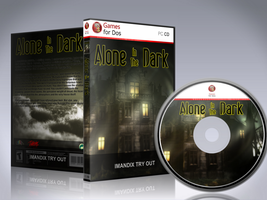 Alone in the Dark Cover - Games for DOS by Diego9000